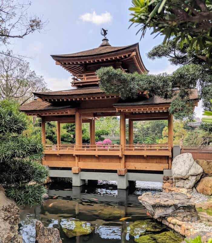 Nan Lian Garden Bridge
