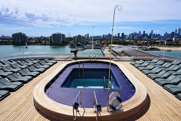 Adults Only Deck on the Pacific Eden