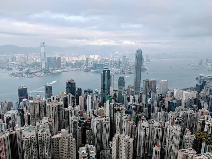 Lugard Road Viewpoint Hong Kong