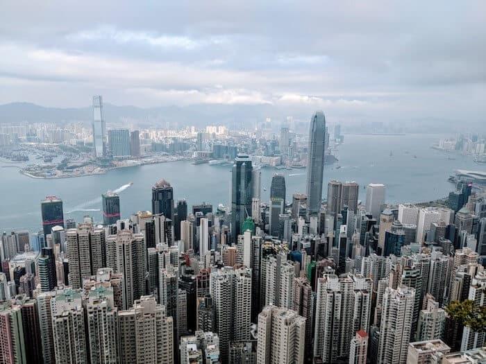 Lugard Road Viewpoint Hong Kong