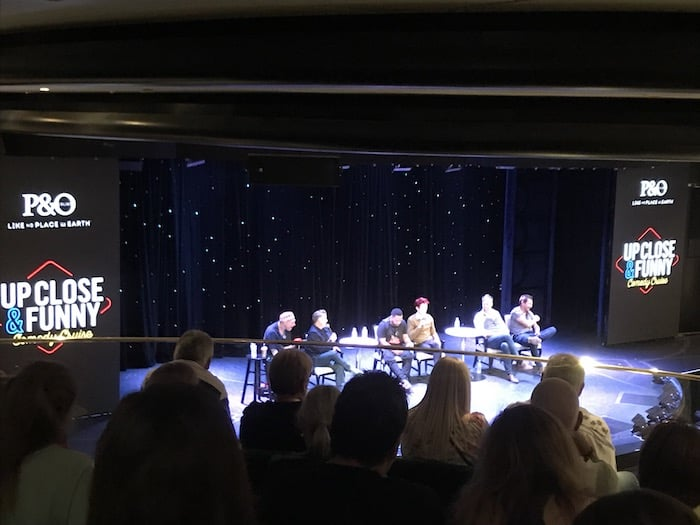Comedy Q&A on the Pacific Eden