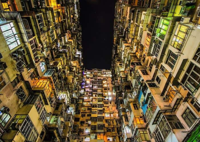 Yik Cheong Building/ Monster Building China Hong Kong
