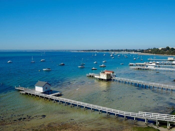 Mornington Peninsula just outside Melbourne
