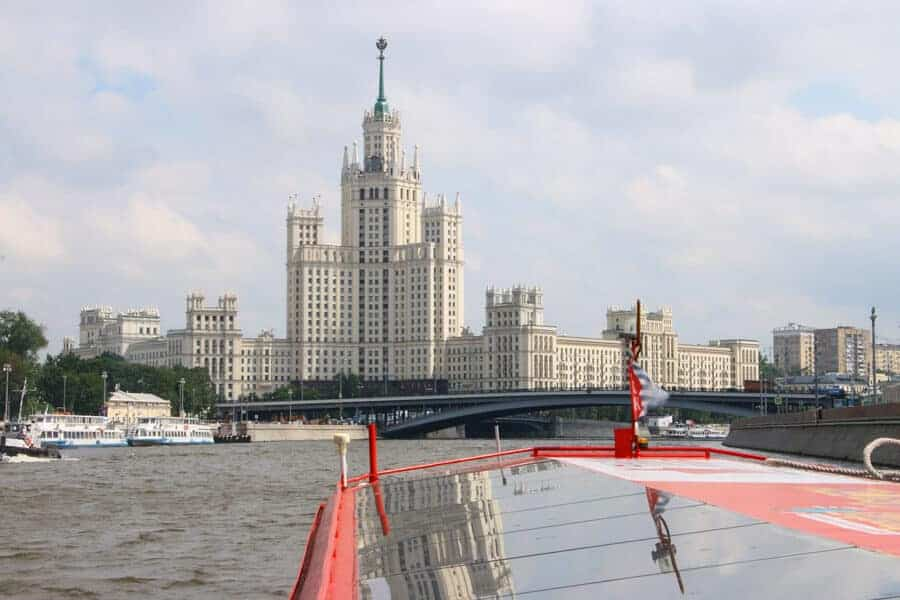 Moscow Attractions - A River cruise