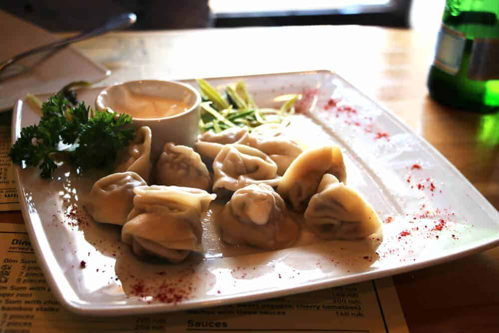 Moscow Sights and Food - Russian cuisine, pelmeni