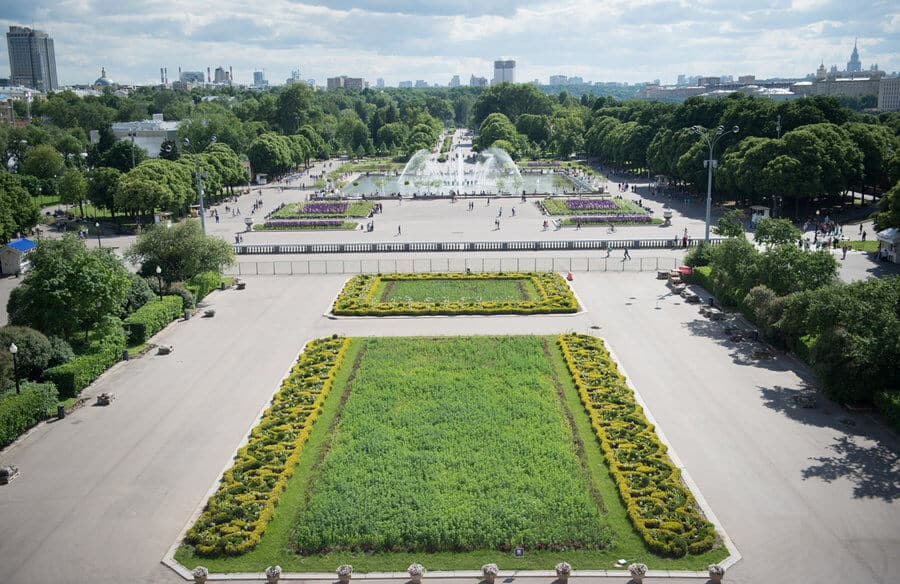 Places to visit in Moscow - Gorky Park