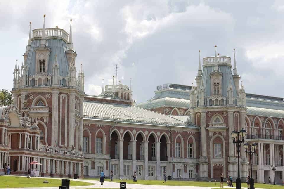 Things to do in Moscow Russia - visit Tsaritsyno palace