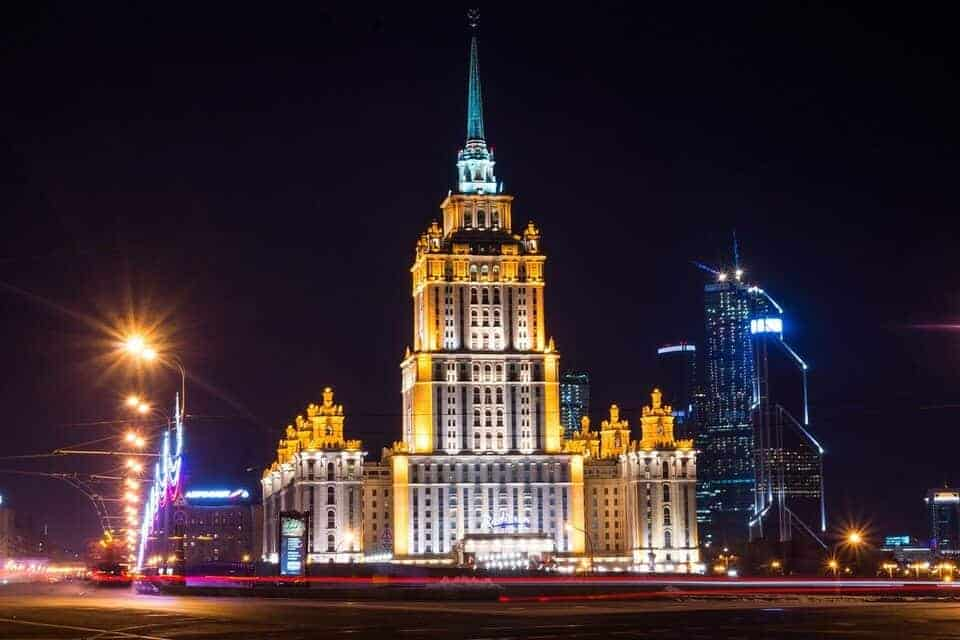 What to see in Moscow - The City at night