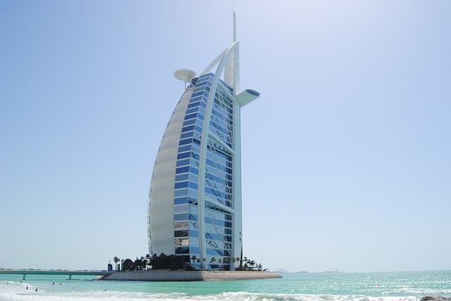 Burj Al Arab for Friday Brunch in Dubai
