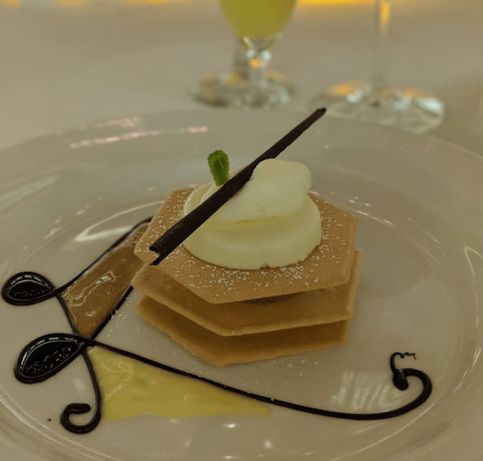 Desserts on Board the Regal Princess