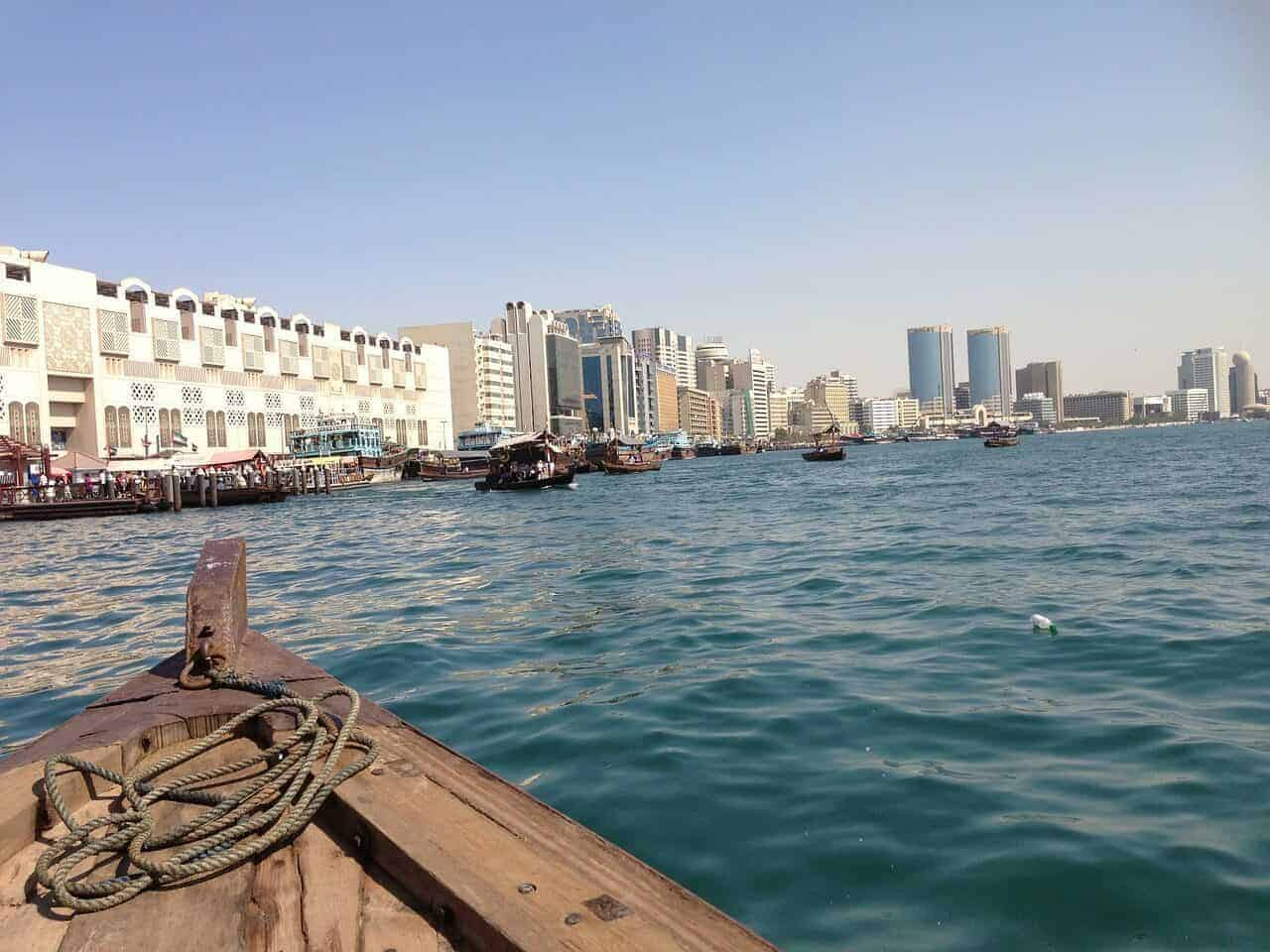 Dhow Boat on Dubai Creek