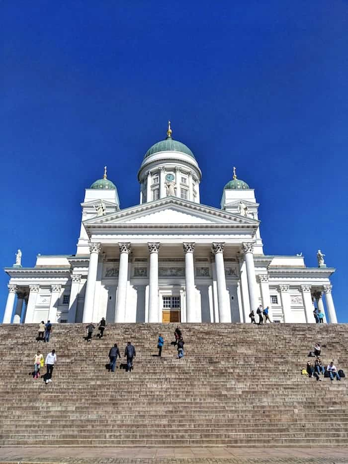 Helsinki Cathedral - a fantastic port on the best scandinavia cruise