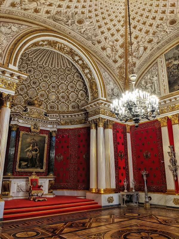The Small Throne Room in the Winter Palace, Hermitage Museum