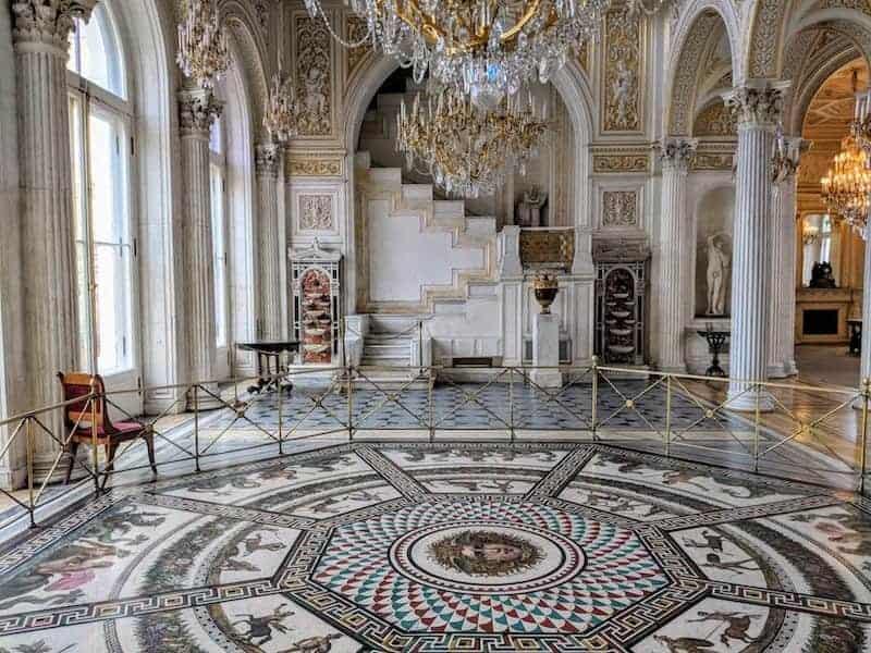 Medusa Mosaic in the Pavilion Room