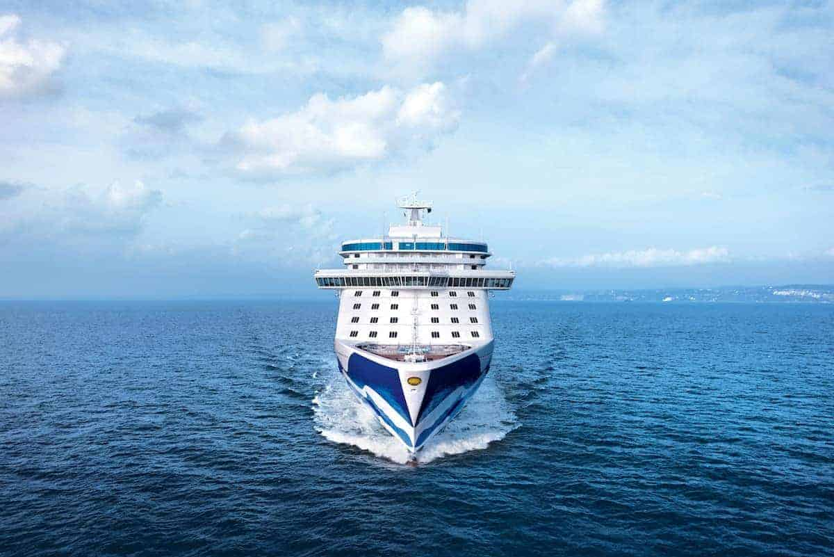 Cruise Travel: The Travel Tend You Never Considered Header Image of Cruise Ship at Sea