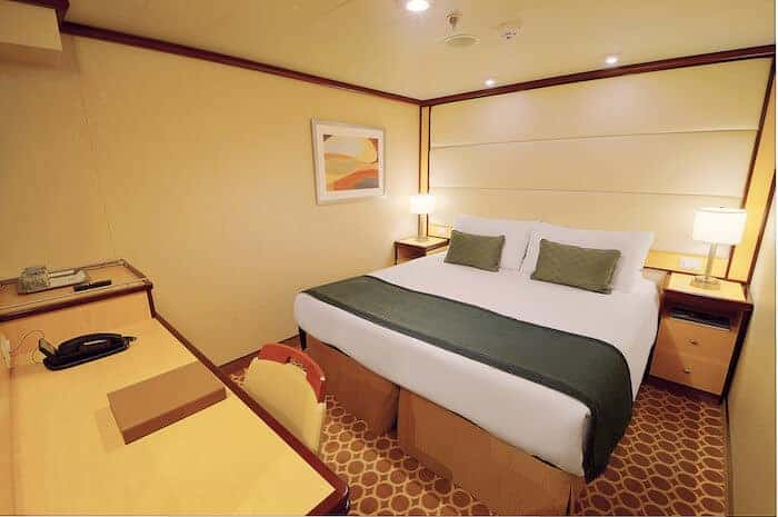 Interior Cabin on the Regal Princess