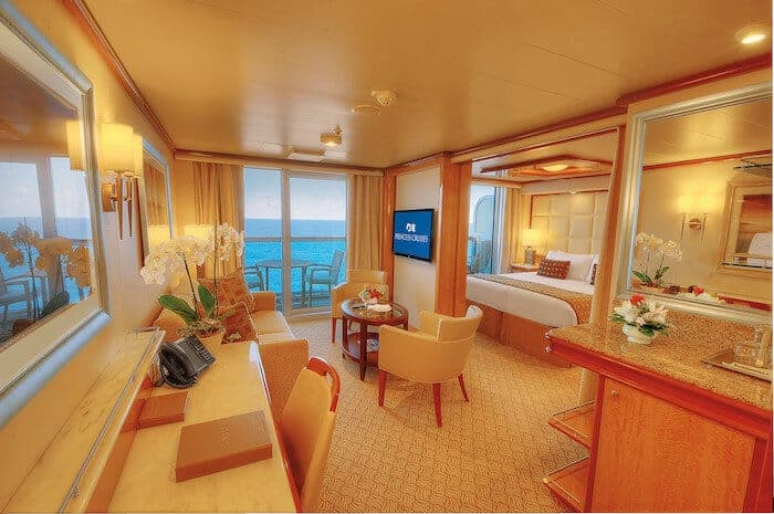 Suite on the Regal Princess