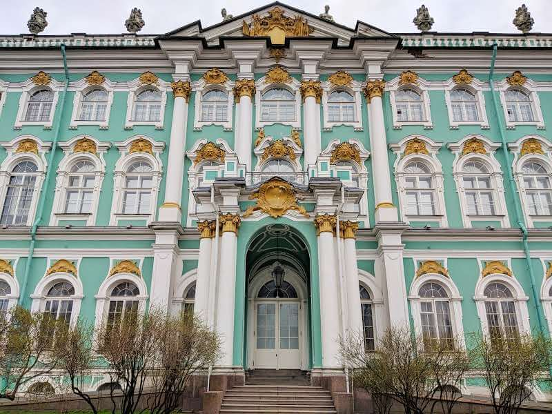 Rear Aspect of the State Hermitage Museum