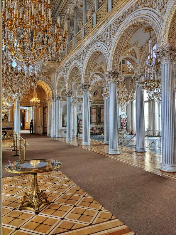 Pavillion Hall in the State Hermitage Museum