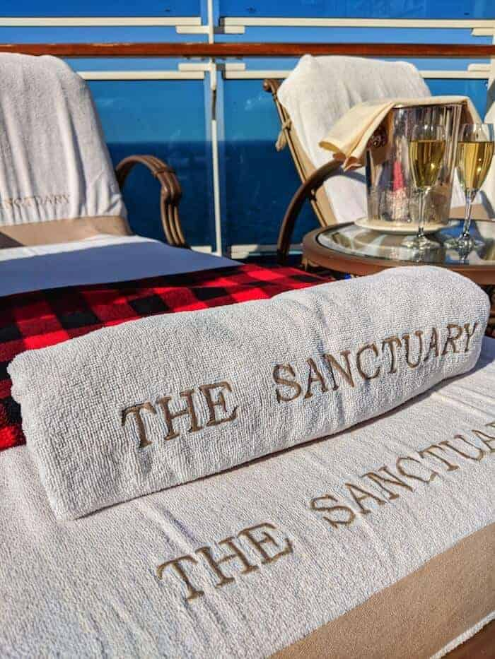 The Sanctuary on The Regal Princess