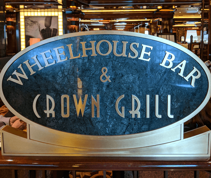 Wheelhouse Bar & Crown Grill - Regal Princess
