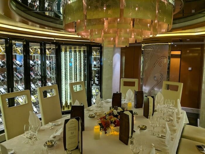 Winemakers Dinner on The Regal Princess