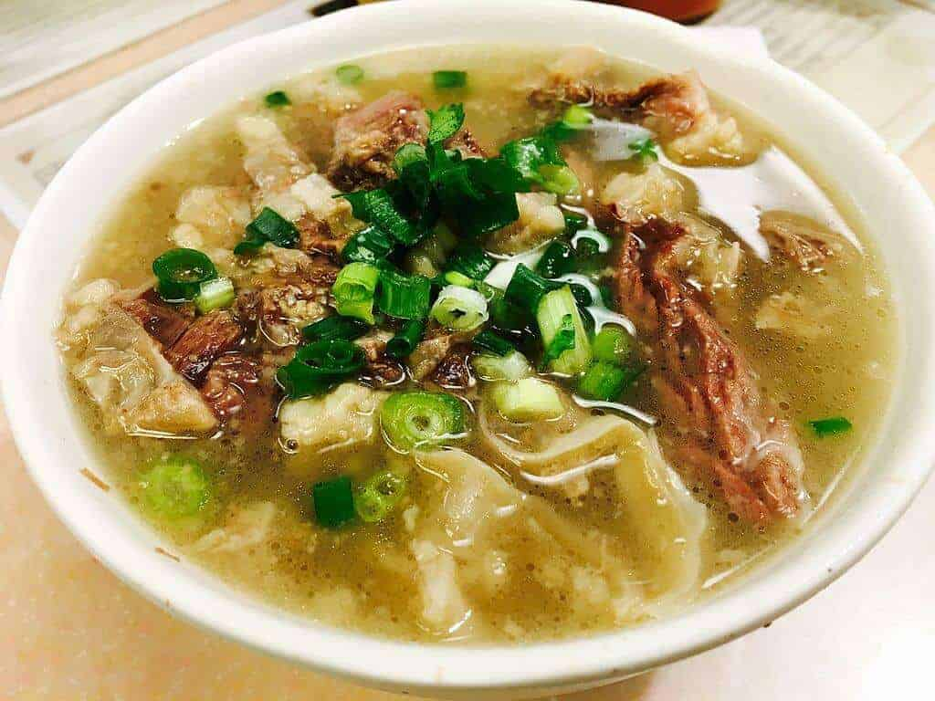 Cantonese Style Beef Brisket and Noodles