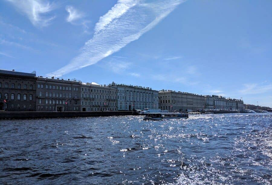 Palace Embankment St Petersburg (c) MakeTimeToSeeTheWorld