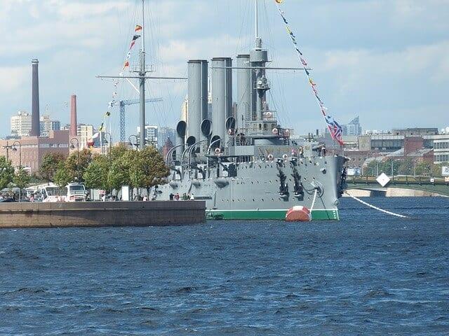 Russian Warship Aroura
