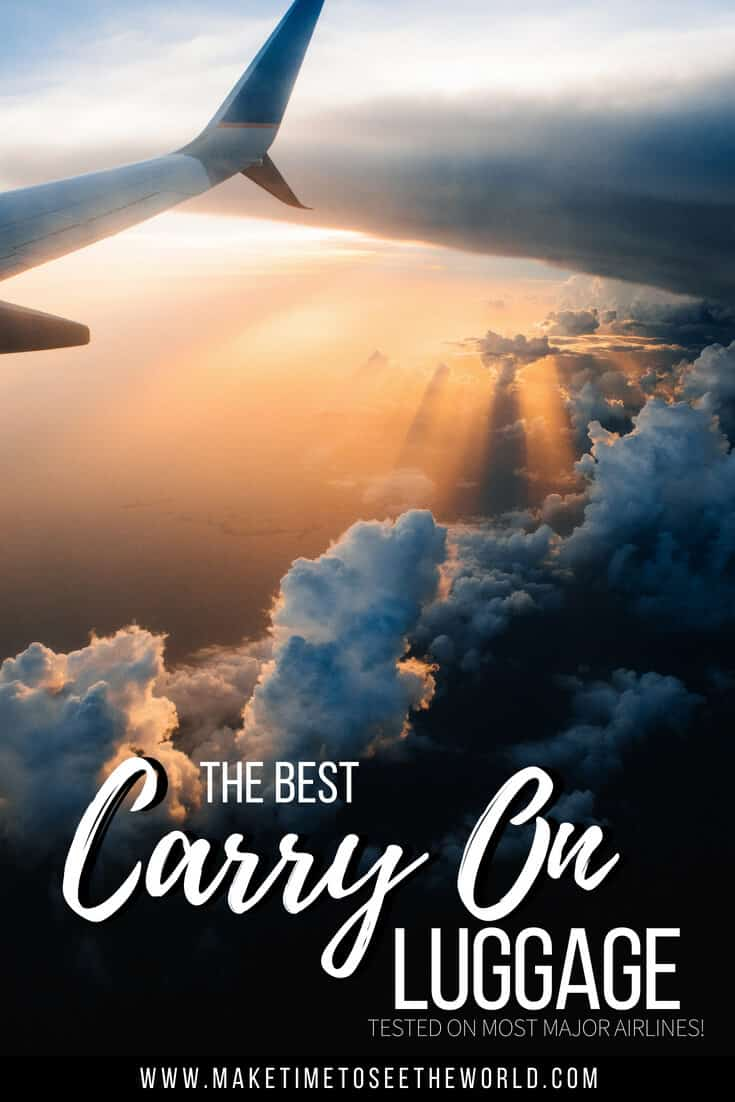 The Best Carry On Luggage for Women & Men