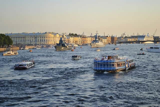 Things to do in St Petersburg - cruise on the Neva River