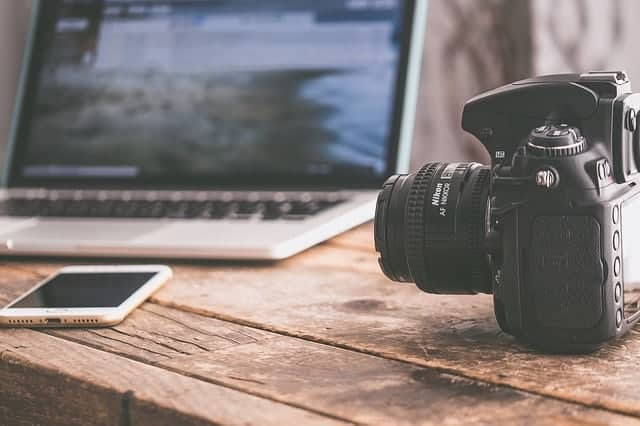 Laptop and Camera - Backpacking Essentials