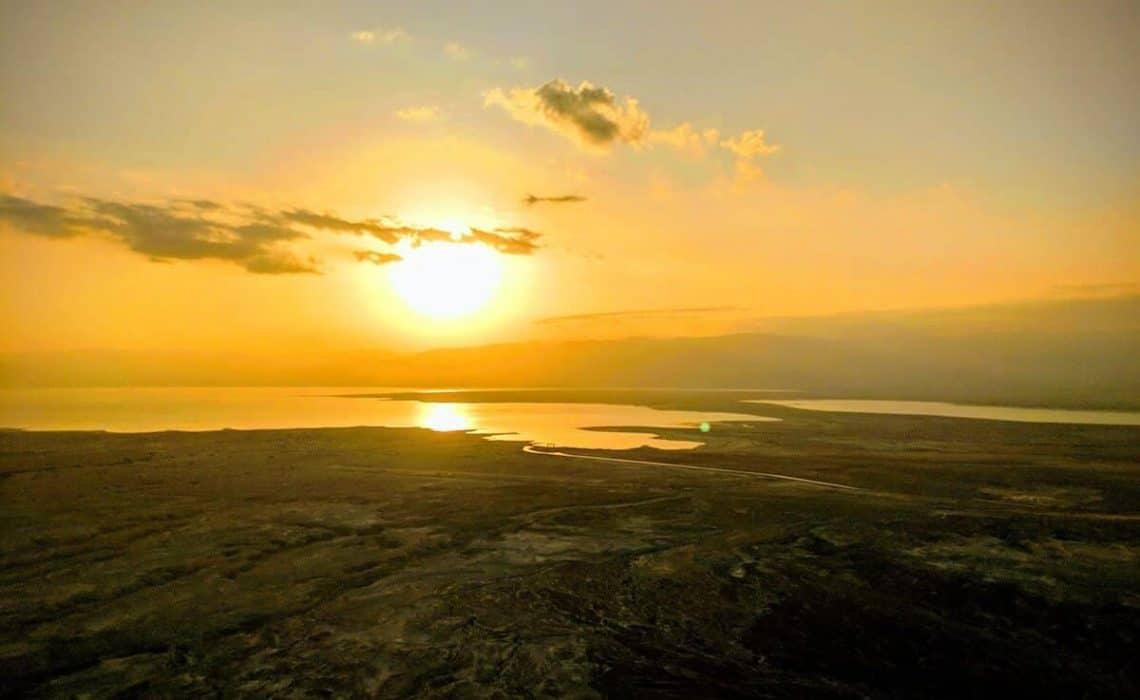Masada Snake Path at Sunrise (c) MakeTimeToSeeTheWorld