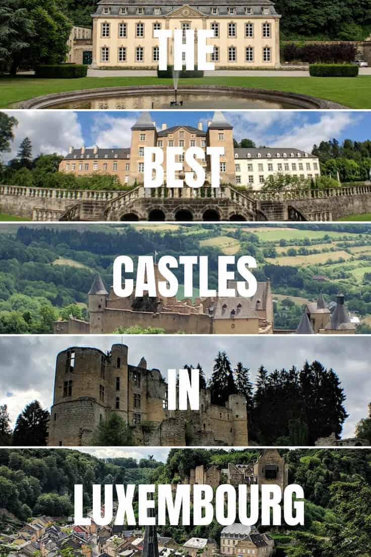 THE BEST CASTLES IN LUXEMBOURG
