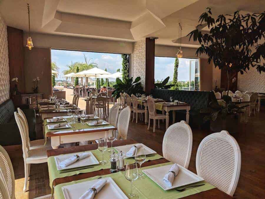 The Mango Tree Restaurant in Elysium at Therme