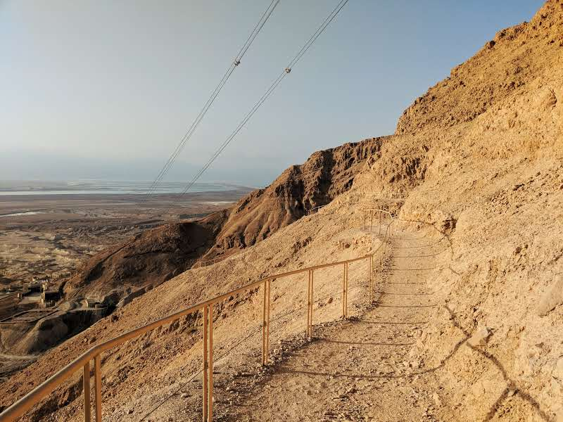 Walways on Masada Snake Path
