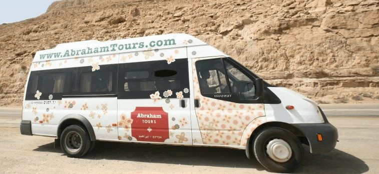Abraham Tours Shuttle Bus