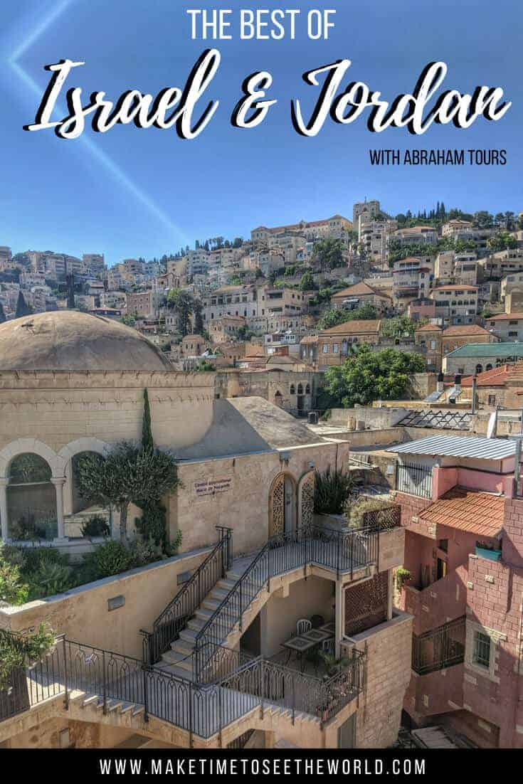Best of Israel & Jordan with Abraham Tours
