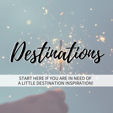 Destinations Tile Homepage