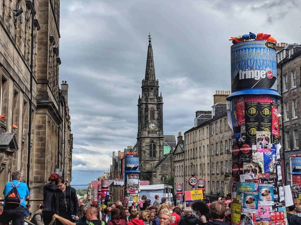Edinburgh Festivals in August - What to know before you go