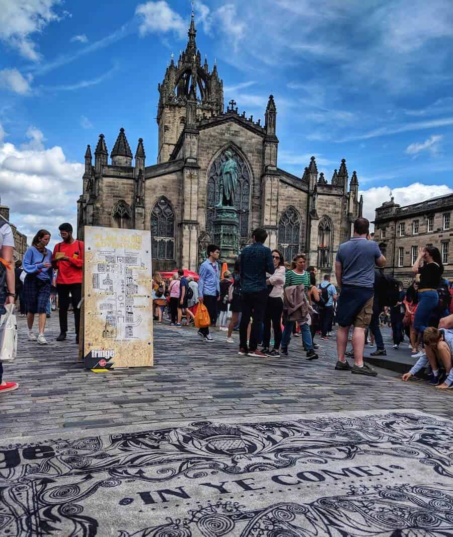 Edinburgh Fringe Entrance Rug