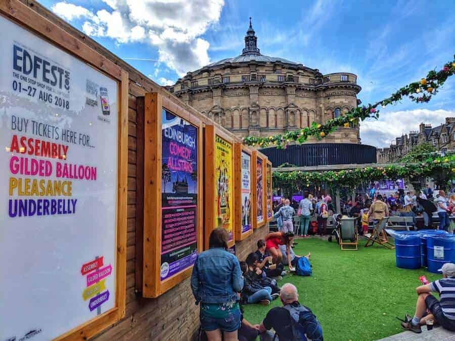 Gilded Garden at Edinburgh Festivals