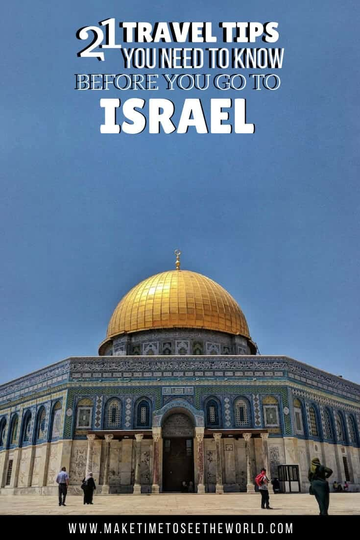 Israel Travel Tips - Know before you go