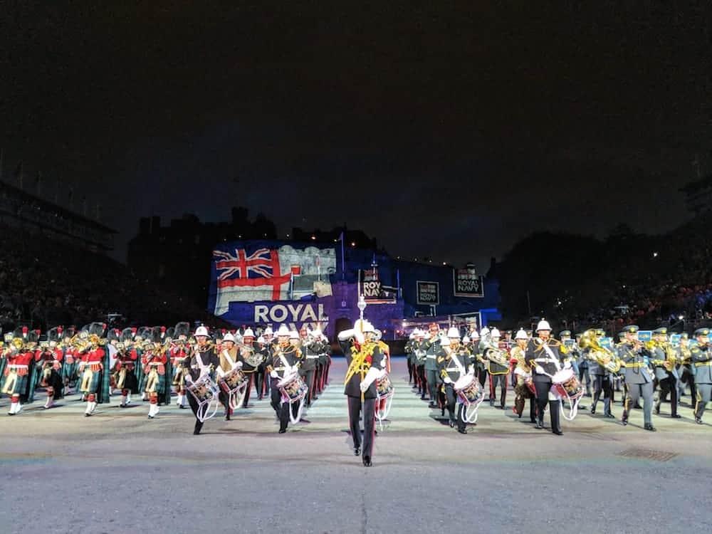 Military Band at Edinburgh Tattoo