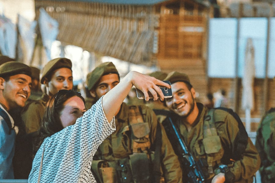 IDF at the Western Wall