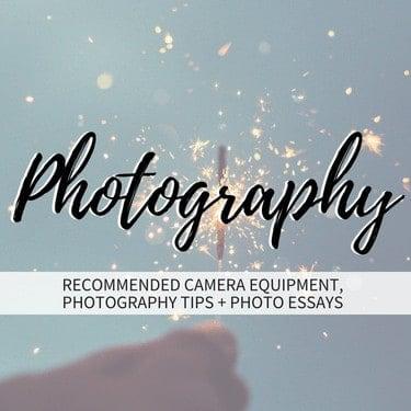 Photography Tile Homepage