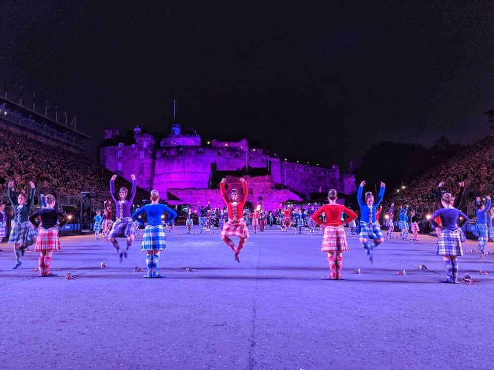 Scottish Dancers at Edinburgh Military Tattoo