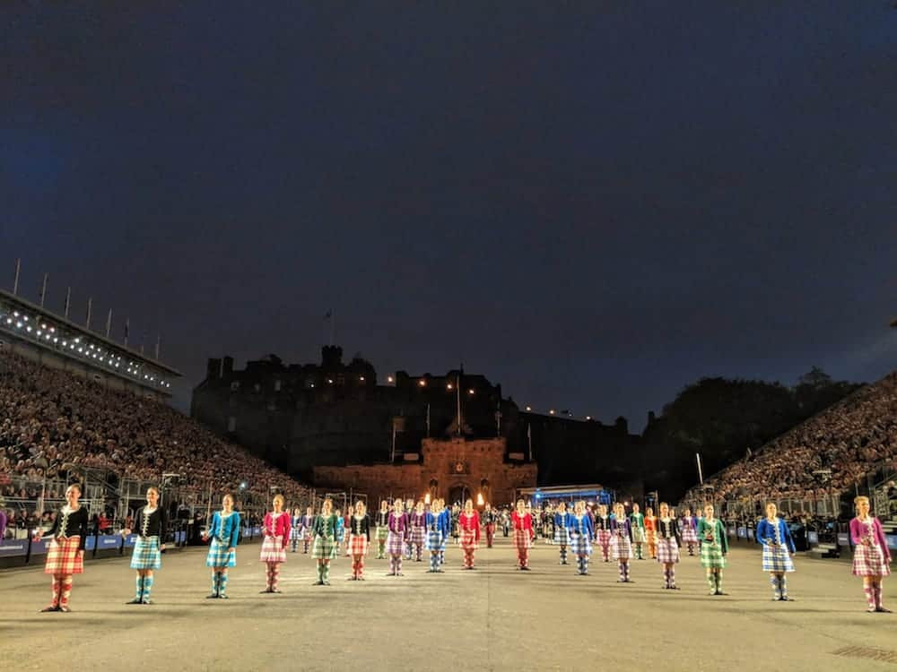 Scottish Dancers at the Edinburgh Tattoo
