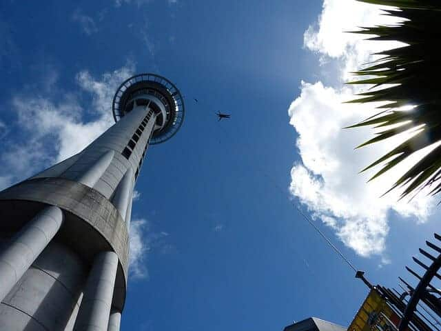 Sky Tower Bungee Auckland