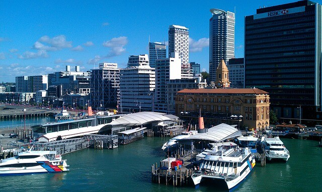 Viaduct Harbour Auckland